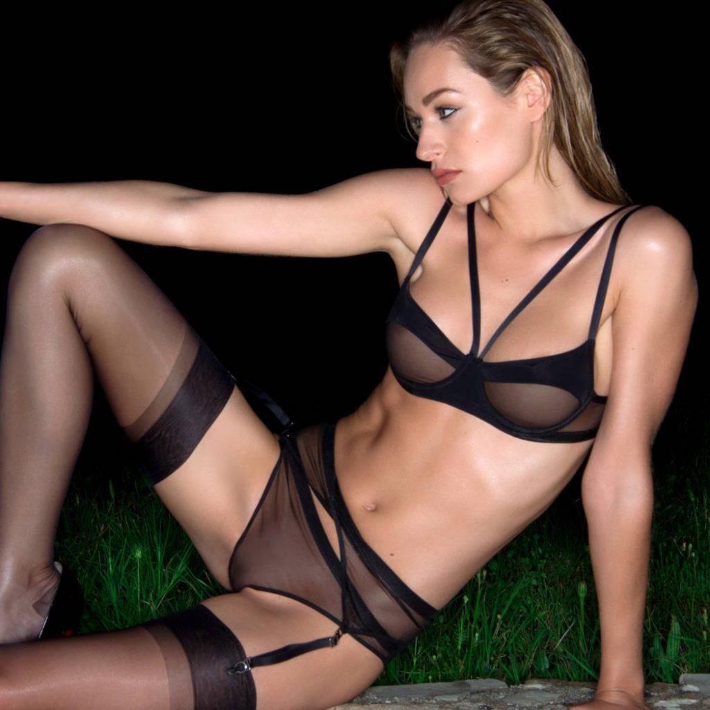 lingerie tendances strapping soutien gorge balconnet confort