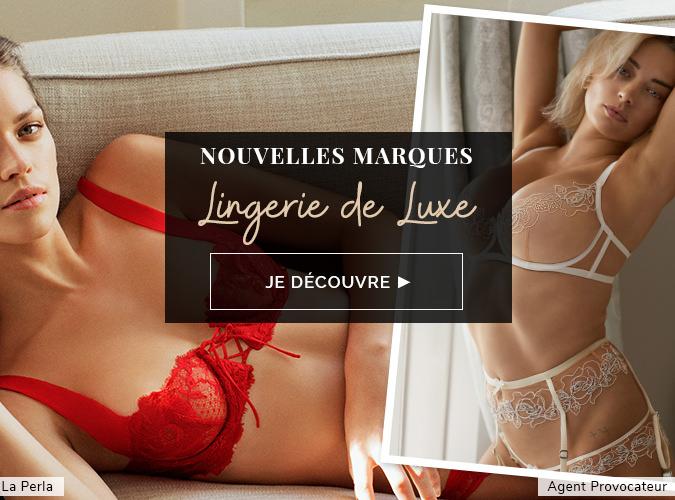 Nouvelles Marques Lingerie de Luxe