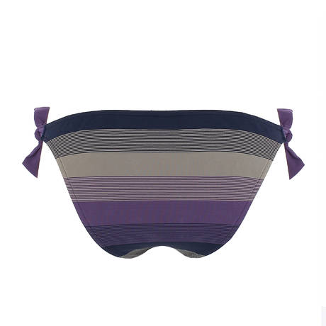 ANDRES SARDA Maillot de bain slip ficelle taille basse Sonia Violet
