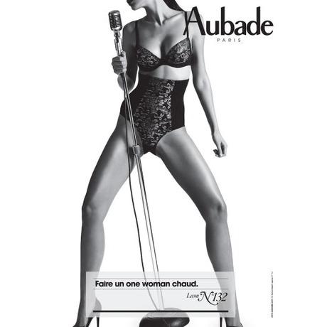 AUBADE Culotte gainante invisible Hypnodream Noir