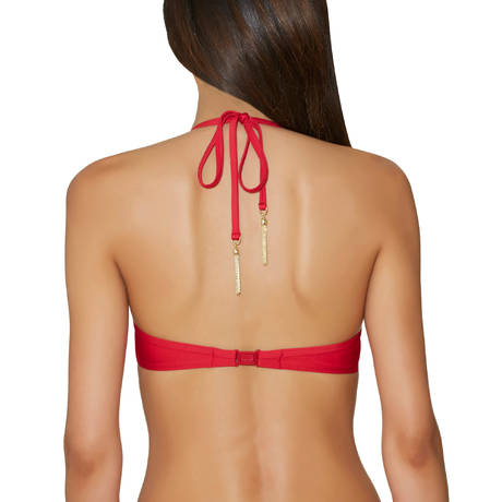 AUBADE Maillot de bain push-up coques Perla de Cuba Chili Pepper