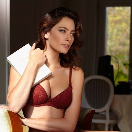 BARBARA Soutien-gorge push-up Mirage Rouge cayenne