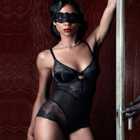 DITA VON TEESE Body Screen Queen Noir Noir