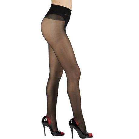 CERVIN Séduction Couture bicolore noir/rouge