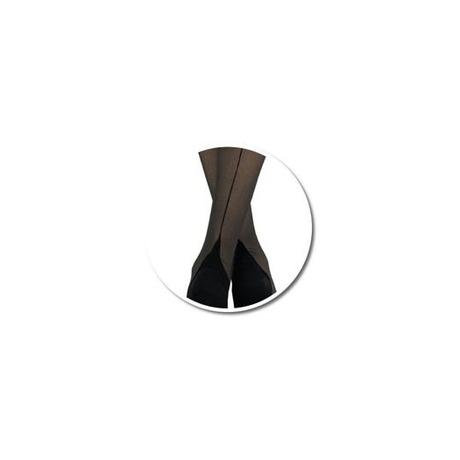 CERVIN Collant Séduction Couture Noir