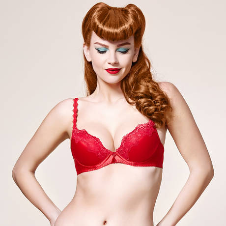 DITA VON TEESE Soutien-gorge push-up Star Lift Rouge Dita