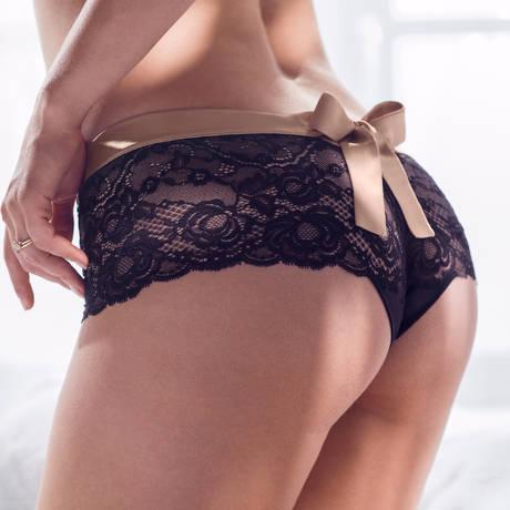 PRIMADONNA String luxueux By Night Noir/Crème