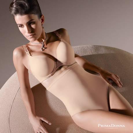 PRIMADONNA Culotte taille haute Perle Café au lait