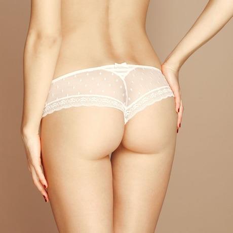 LOU Shorty Voluptueuse Blanc