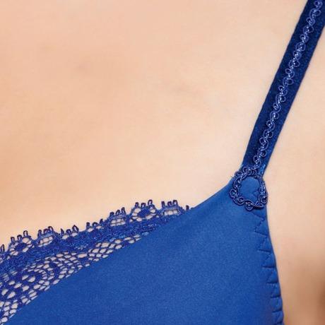 MAISON LEJABY Soutien-gorge armatures Petra Bleu