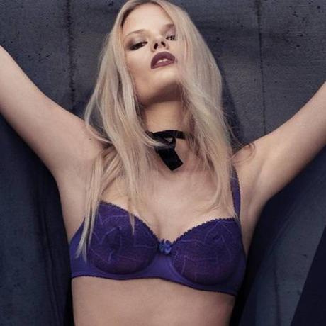 LOU Soutien-gorge corbeille Précieuse Violet