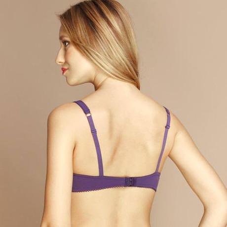 LOU Soutien-gorge push-up Précieuse Violet