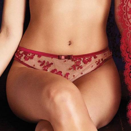 LES JUPONS DE TESS String Pasion y deseo Rouge