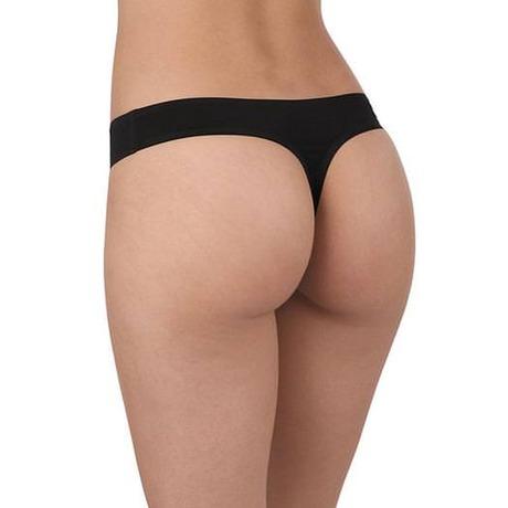 BARBARA Tanga Nude Perfect Noir