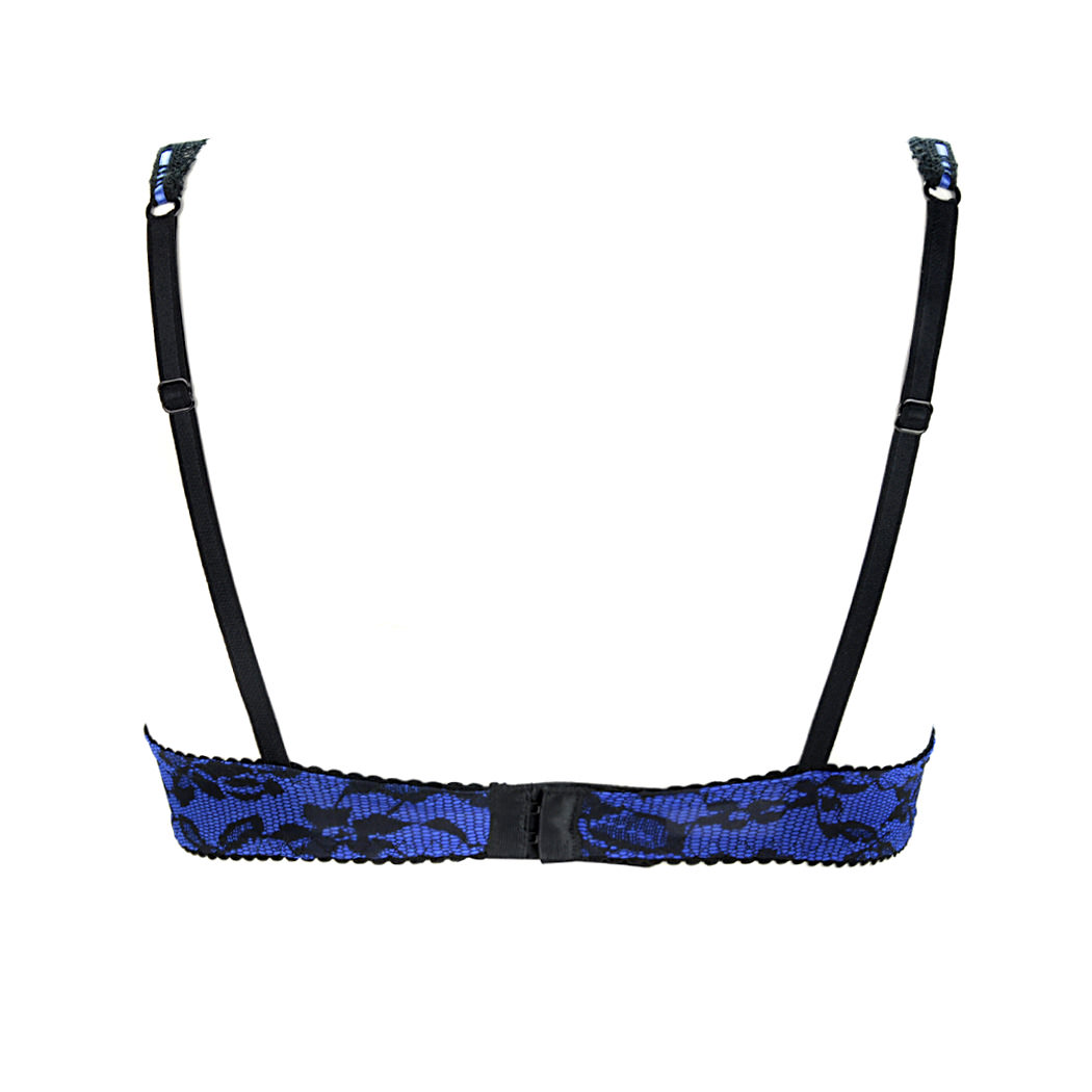ANTIGEL Soutien-gorge coques Vamp en Douce Bleu Glam