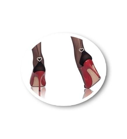 CERVIN Collants Séduction couture Coeur