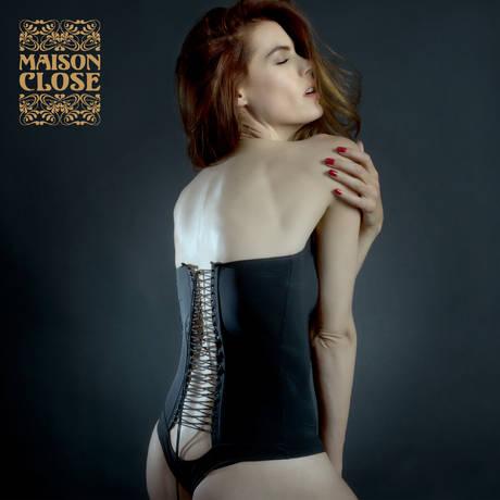 MAISON CLOSE Body string Nuit Infinie Noir