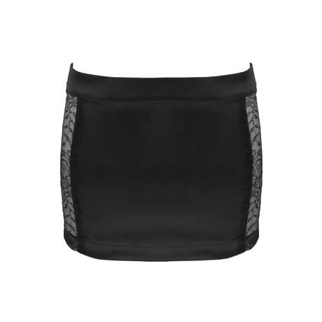 MAISON CLOSE Mini jupe Villa Satine Noir