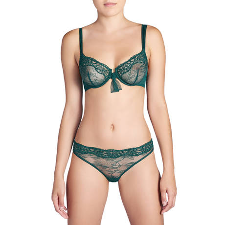 ANDRES SARDA Soutien-gorge armatures emboîtant Louise Jewel Green