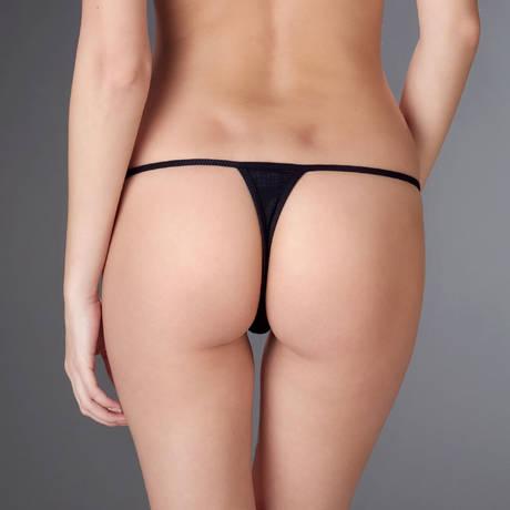 MAISON CLOSE Mini string Bellevue Noir