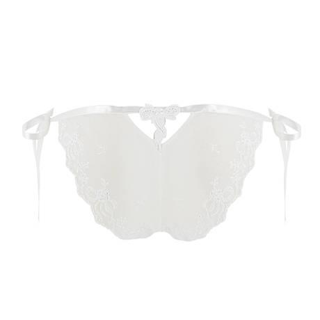 LISE CHARMEL Slip sexy Bohème Désir Blanc