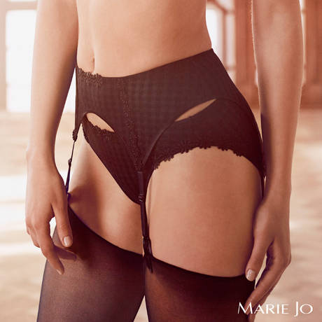 MARIE JO Porte-jarretelles Avero Noir