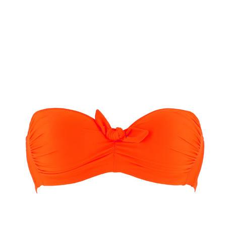 ANTIGEL Maillot de bain bandeau coques L'Estivale Chic Orange