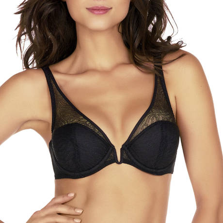 IMPLICITE Soutien-gorge push-up Pulsion Noir
