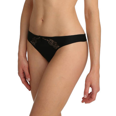 String Black lace Noir