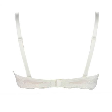 Soutien-gorge bandeau Ultra Féminin Nacre