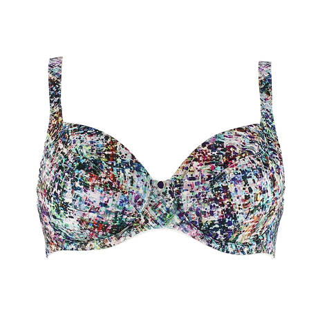 Soutien-gorge corbeille fitting Fan de Tweed Multicolore