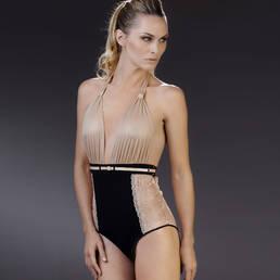 Body culotte drapé Maison Close La Cavalière