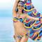 ANTIGEL Maillot de bain slip lacets La Sporty Tropique Voile Tropique