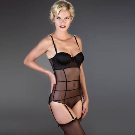 Body culotte Villa Bel Ami Noir