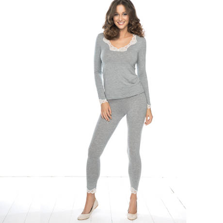 ANTIGEL Pull manches longues Simply Perfect Gris