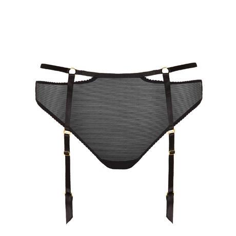 Culotte porte-jarretelles Bondage-Belle Noir