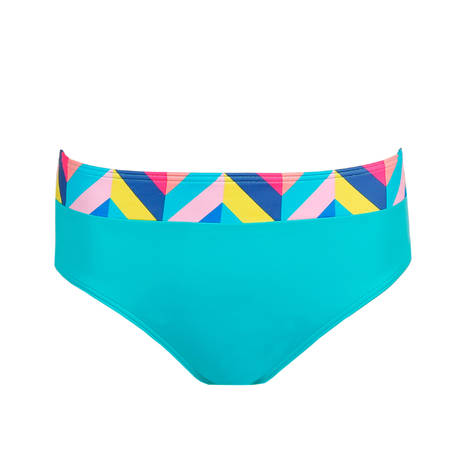 PRIMADONNA Maillot de bain bikini slip taille haute Smoothie Mermaid