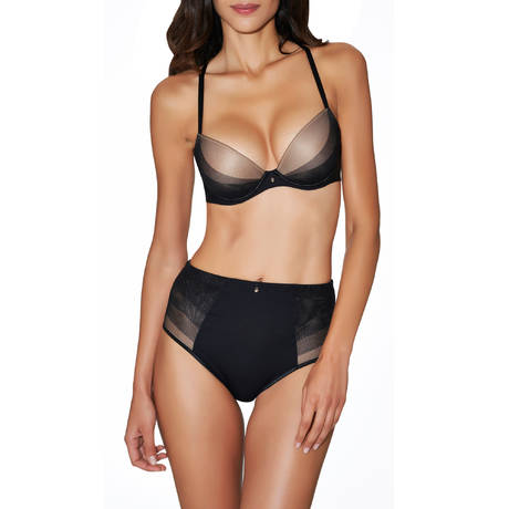 Culotte galbante Onde Sensuelle Noir