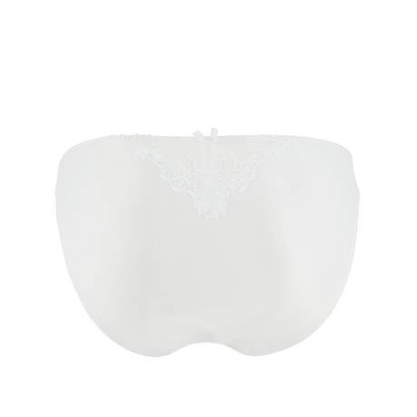 Slip fantaisie Dressing Floral Blanc