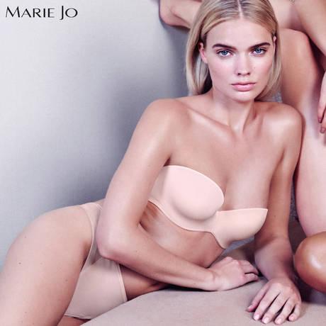 MARIE JO Soutien-gorge bandeau coques Undertones Glossy Pink