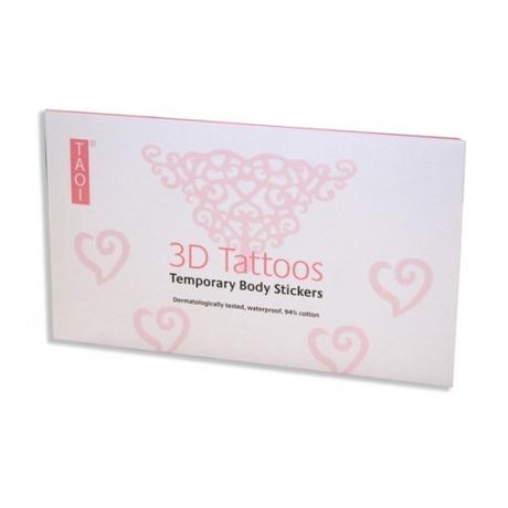 Tattoos 3D Triangle Rose