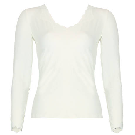 Pull manches longues Simply Perfect Nacre