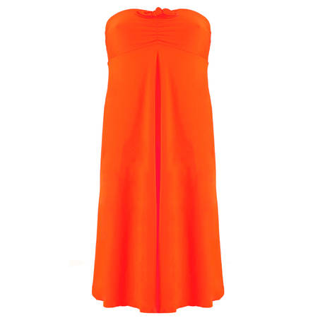 Robe de plage bandeau L'Estivale Chic Orange