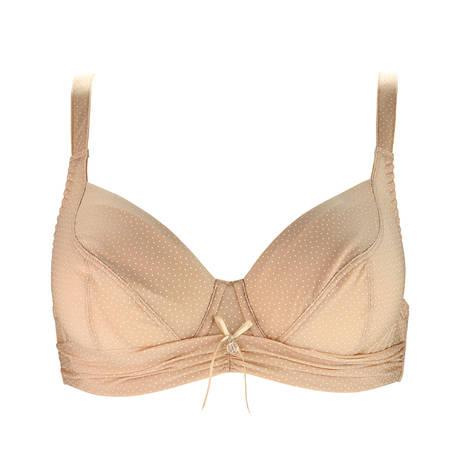 Soutien-gorge corbeille fitting Drapé Délice Nude