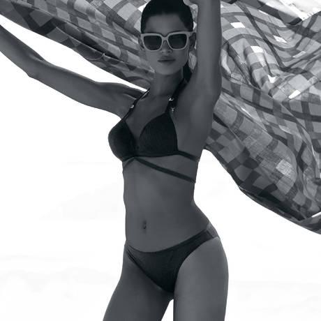 Maillot de bain trikini Perla de Cuba Noir