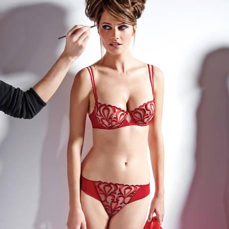 Soutien-gorge corbeille Look Rouge