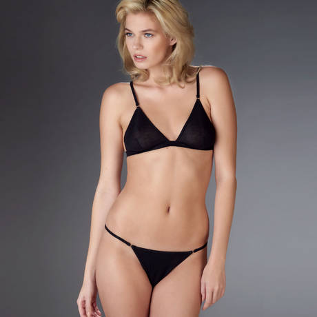 MAISON CLOSE Mini string Bellevue Noir