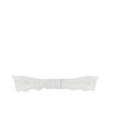 LISE CHARMEL Soutien-gorge bandeau Bohème Désir Blanc