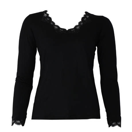 Pull manches longues Simply Perfect Noir