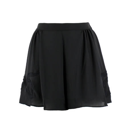 DITA VON TEESE Short Beau-Bait Loungewear Noir
